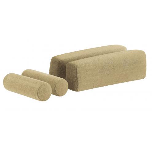 Подушки для кровати-дивана (3464) зеленые
