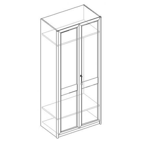 Шкаф для одежды 2-х дверный 21.030