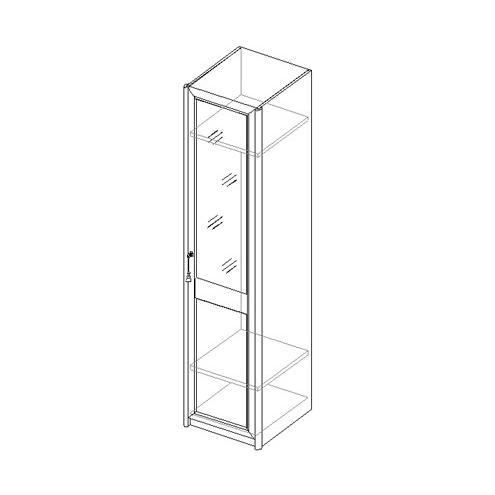 Шкаф для одежды с 1 дверью 21.033
