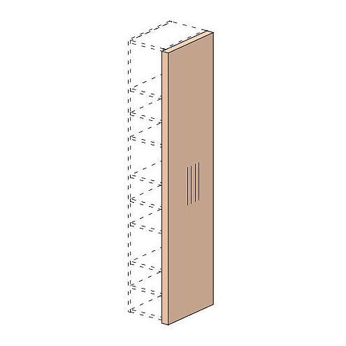 Стенка вертикальная шкафа Мегаполис 53h100