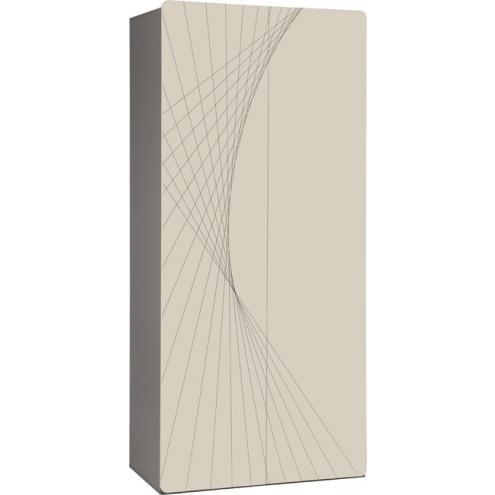 Шкаф 2-дверный с рисунком 2piR