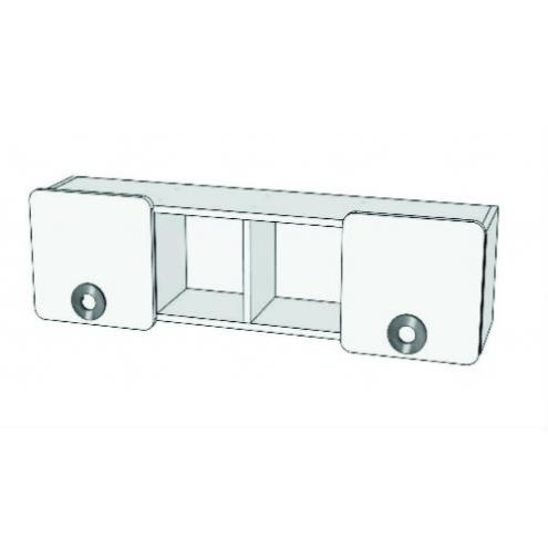 Шкаф навесной двухдверный MN4-11 Клюква Мини