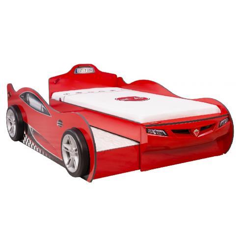 Кровать-машина c выдвижной кроватью Champion Racer Coupe 90х190/90х180 (1306)