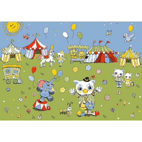 Детский развивающий ковер Sorona Joyful Circus