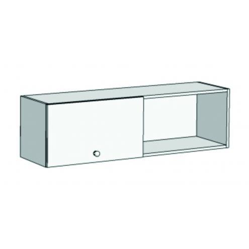 Шкаф навесной с 1-м фасадом Авто A12-110