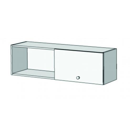Шкаф навесной с 1 фасадом 2 секциями A12-110