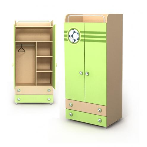 Двухдверный шкаф Bs-02-1