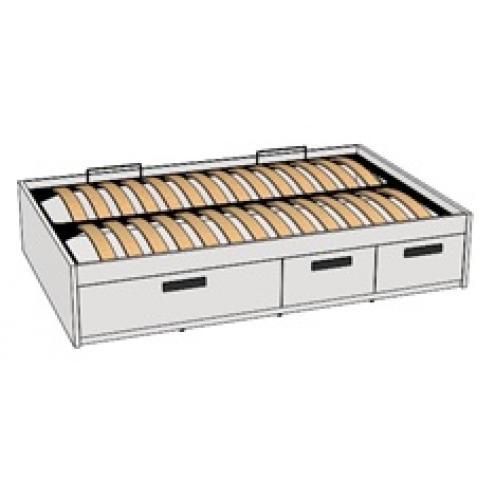 Кровать с декоративной планкой BTD-3Q с рисунком