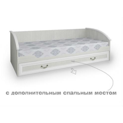 Кровать нижняя с дополнительным спальным местом Классика