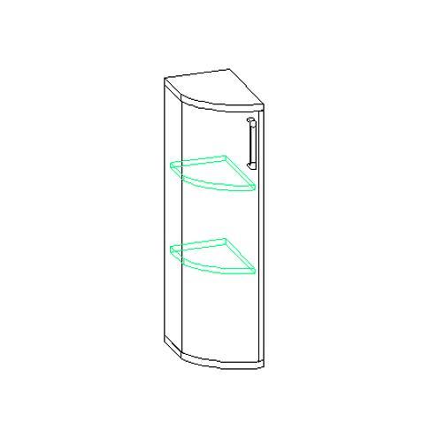 Шкаф для белья 30.130