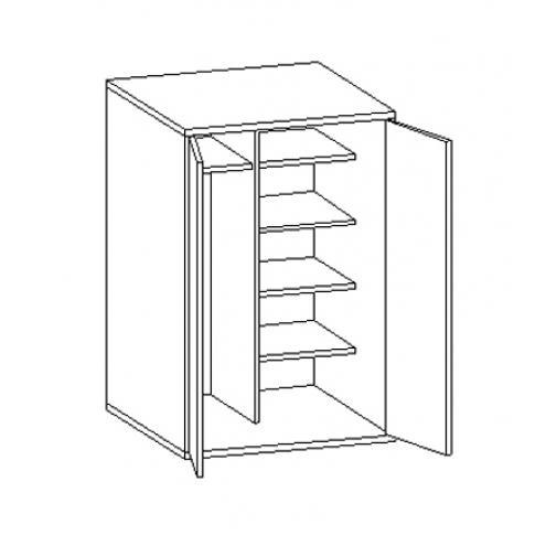 Шкаф для одежды под верхнюю кровать 30.470