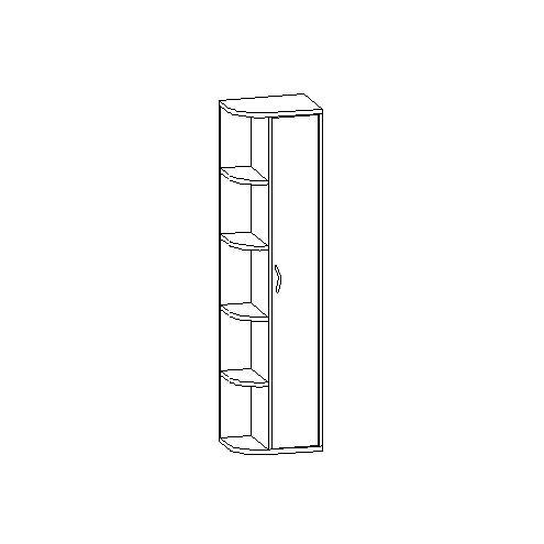 Шкаф комбинированный 30.490
