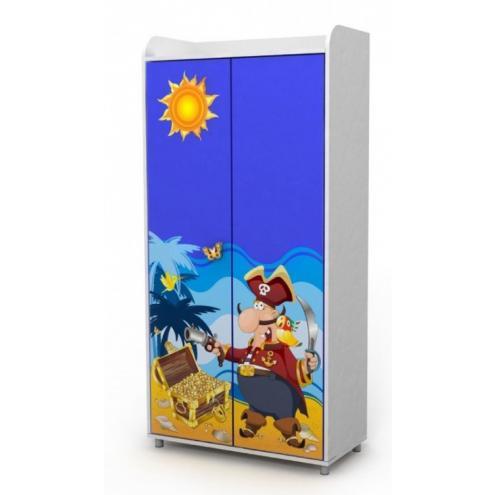 Двухдверный шкаф (пират)