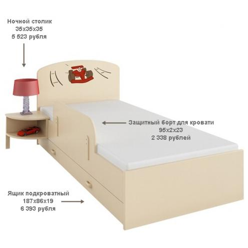 Защитный борт для кровати Формула