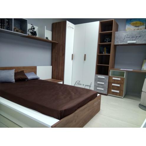 Кровать+прикроватная тумба JUNIOR (выставочный образец)