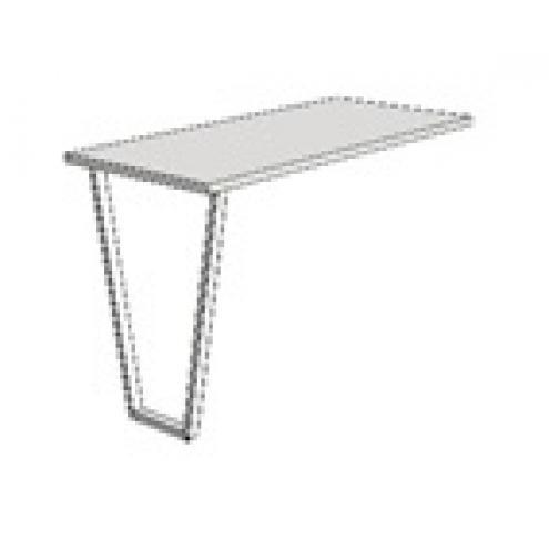 Опора для компьютерного стола алюминиевая Junior JFH1
