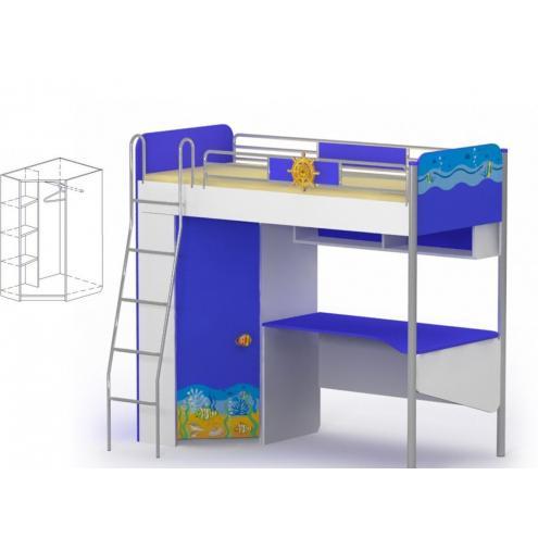 Кровать-чердак Ocean