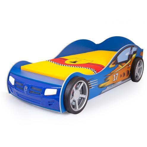Кровать машина Champion (синяя)