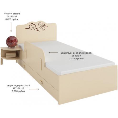 Кровать Орхидея