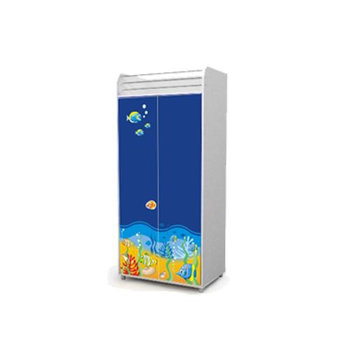 Двухдверный шкаф (море)