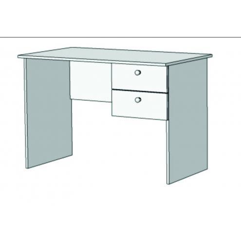 Стол письменный с 2 ящиками S1-110Q с рисунком
