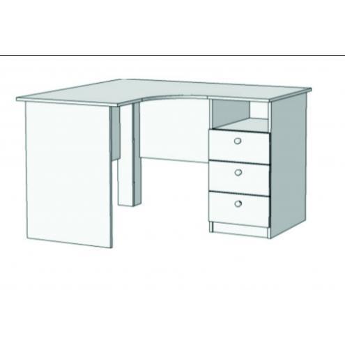 Стол письменный угловой с 3 ящиками S5-1211Q