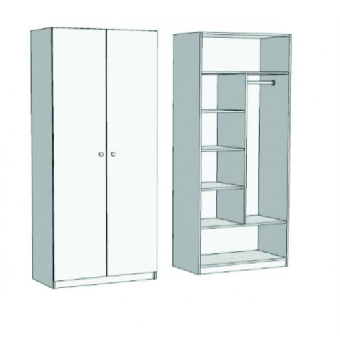Шкаф комбинированный SH2-70 с рисунком