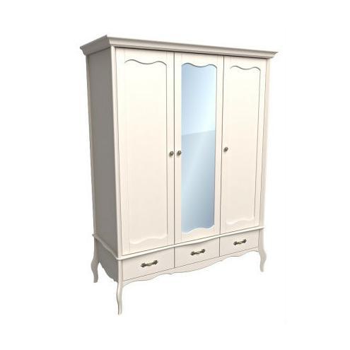 Шкаф 3-х дверный Лебо (бежевый воск) 55703