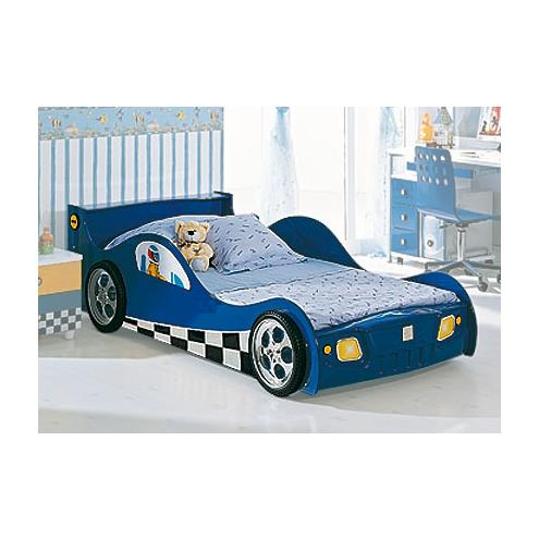 Кровать-машина F1 blue