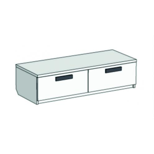 Тумба под ТВ с 2 ящиками Junior TSS-01100Q с рисунком