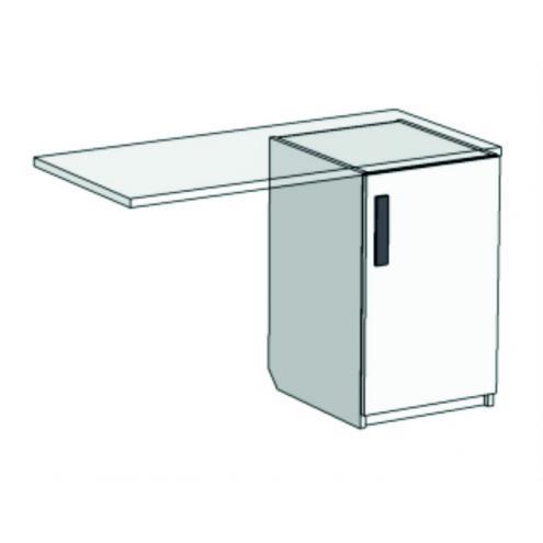 Тумба однодверная для компьютерного стола Junior TT-0435 с рисунком