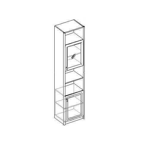Шкаф для книг 2-х дверный. 20.050