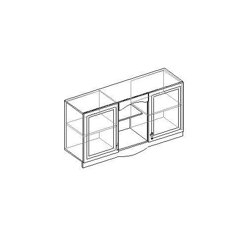 Шкаф настенный 2-х дверный. 20.072