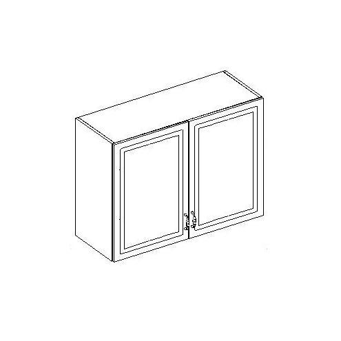 Шкаф настенный 2-х дверный. 20.075