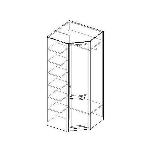 Шкаф угловой 1-дверный. 20.120
