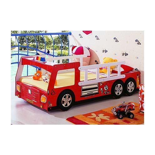 Кровать-машина Пожарная