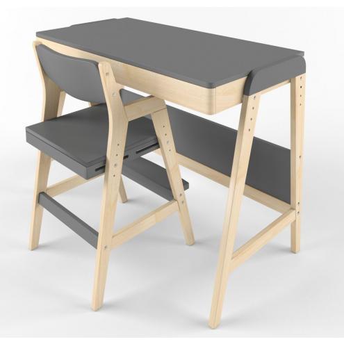 Стол и стул растущий Вуди Набор 6