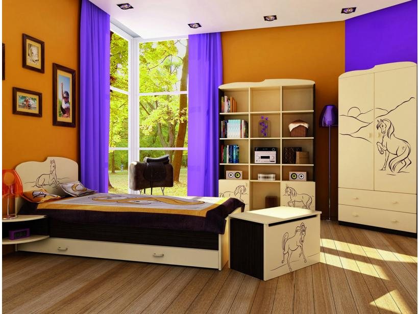 Детская комната Мустанг