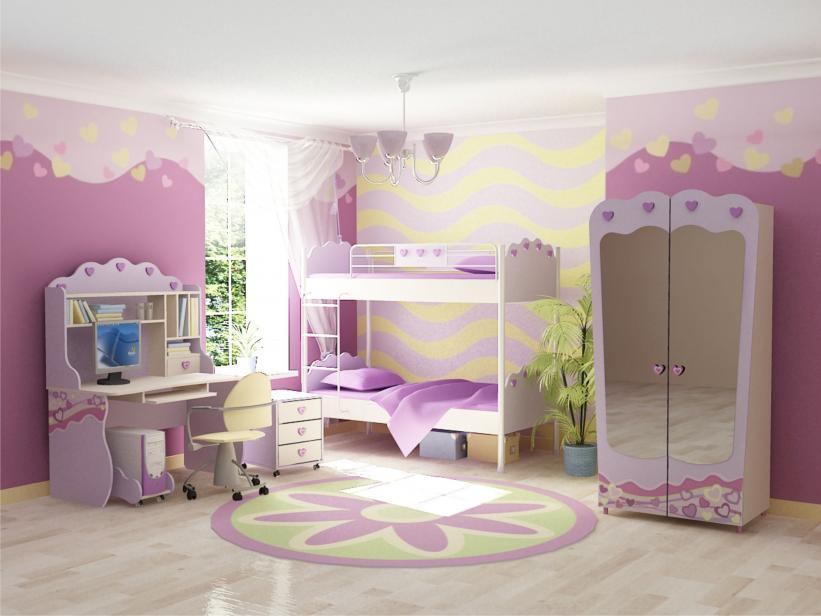 Детская комната Пинк